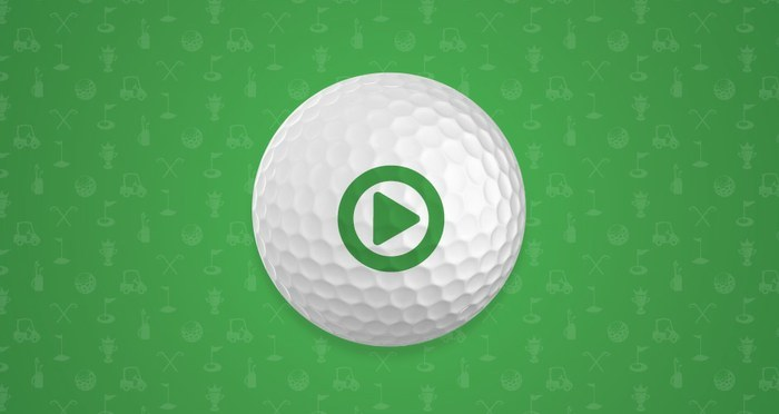 Short videos of great golf moments