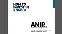 How to invest in Angola - ANIP2014