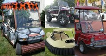 Pimped-Out Golf Carts